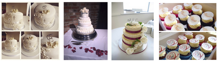 red velvet event cakes